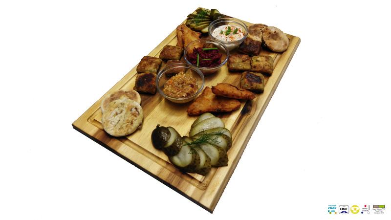 Snackplatte, Gesundheitsklecks, Zur Eiche, Profen, Elsteraue, Restaurant
